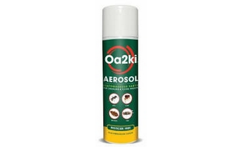 OA2KI Organic Bed Bug Powder Aerosol Spray