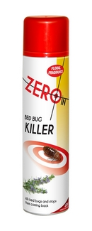 Zero In Bed Bug Killer Aerosol Spray 300ml